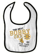 Style - #BZ617 - The next Bobby Orr Infant bib